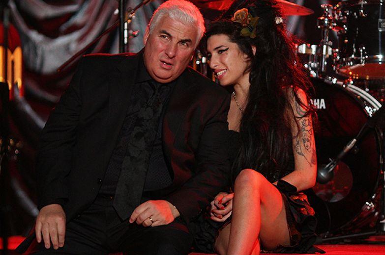 Эми Уайнхаус с отцом