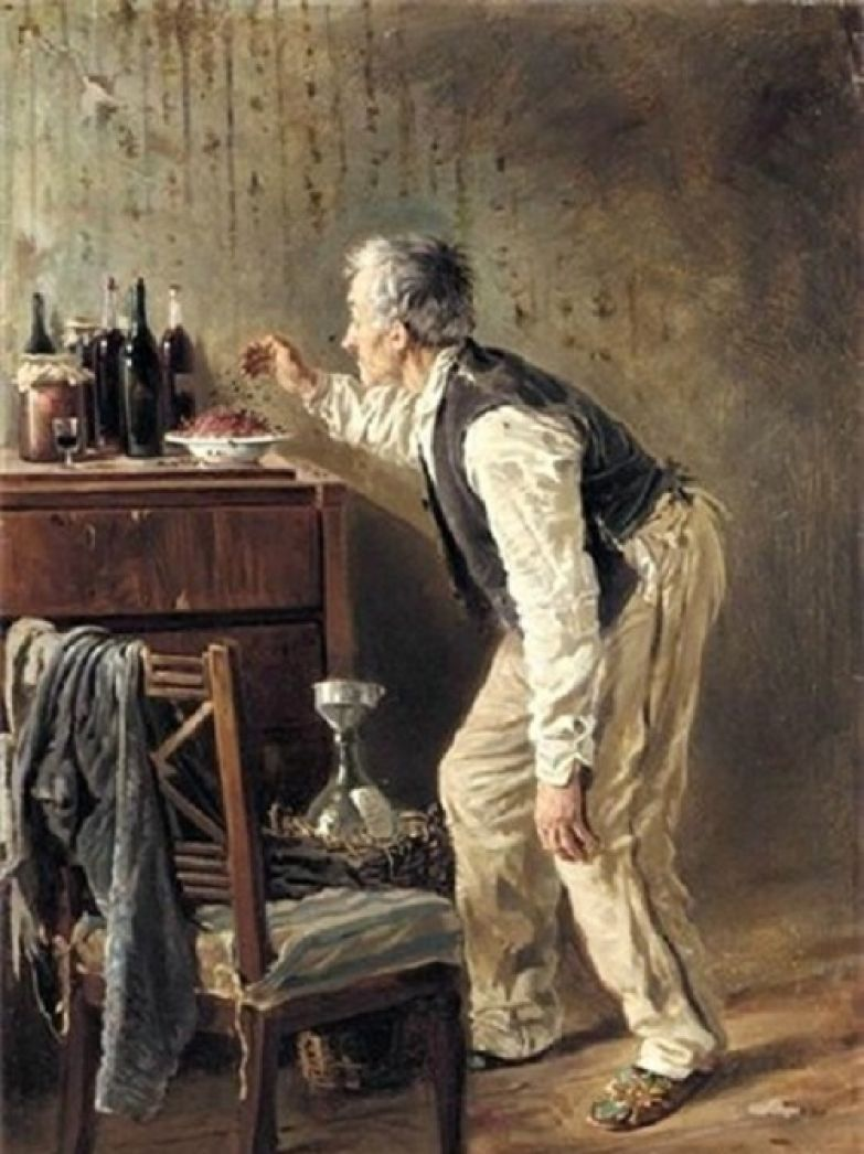 Владимир Маковский. «Винодел». 1897 г.