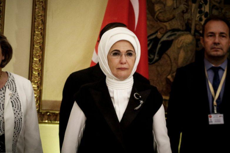 Эмине Эрдоган. / Фото: www.iefimerida.gr