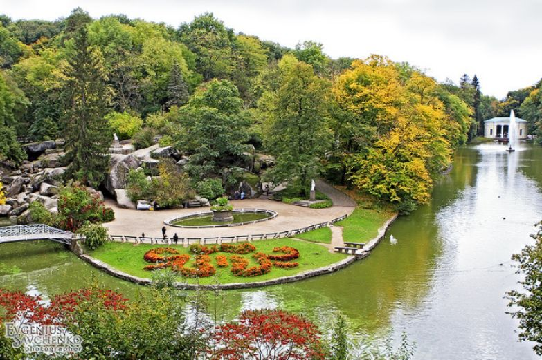 Один из самых выдающихся творений мирового садово-паркового искусства конца XVIII — первой половины XIX в.