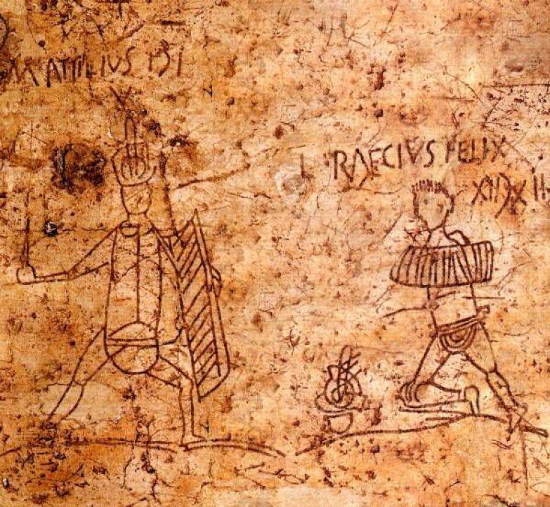 """Что писали """"на заборах"""" древние римляне? Лига историков, Древний Рим, эпиграфика, городские граффити, длиннопост"""