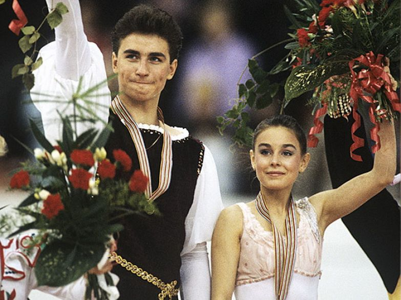 Екатерина Гордеева и Сергей Гриньков - чемпионы