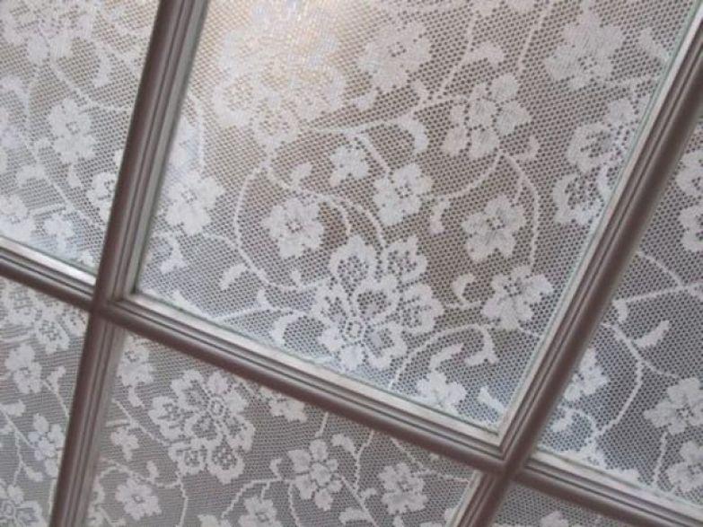 декор окна в зале