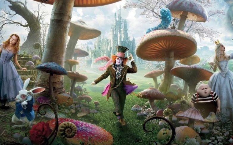 """3. """"Алиса в стране чудес"""" Льюиса Кэрролла дети, книги, сказки, цитаты"""