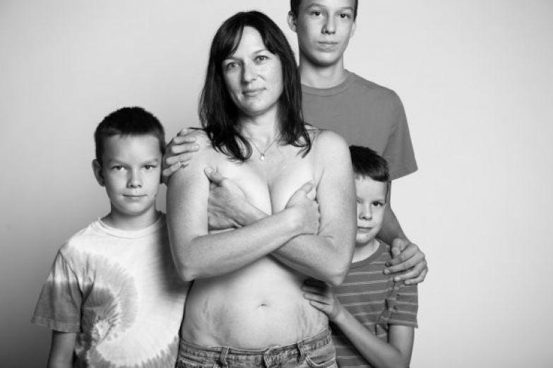 Нудисты семья рассказ порно