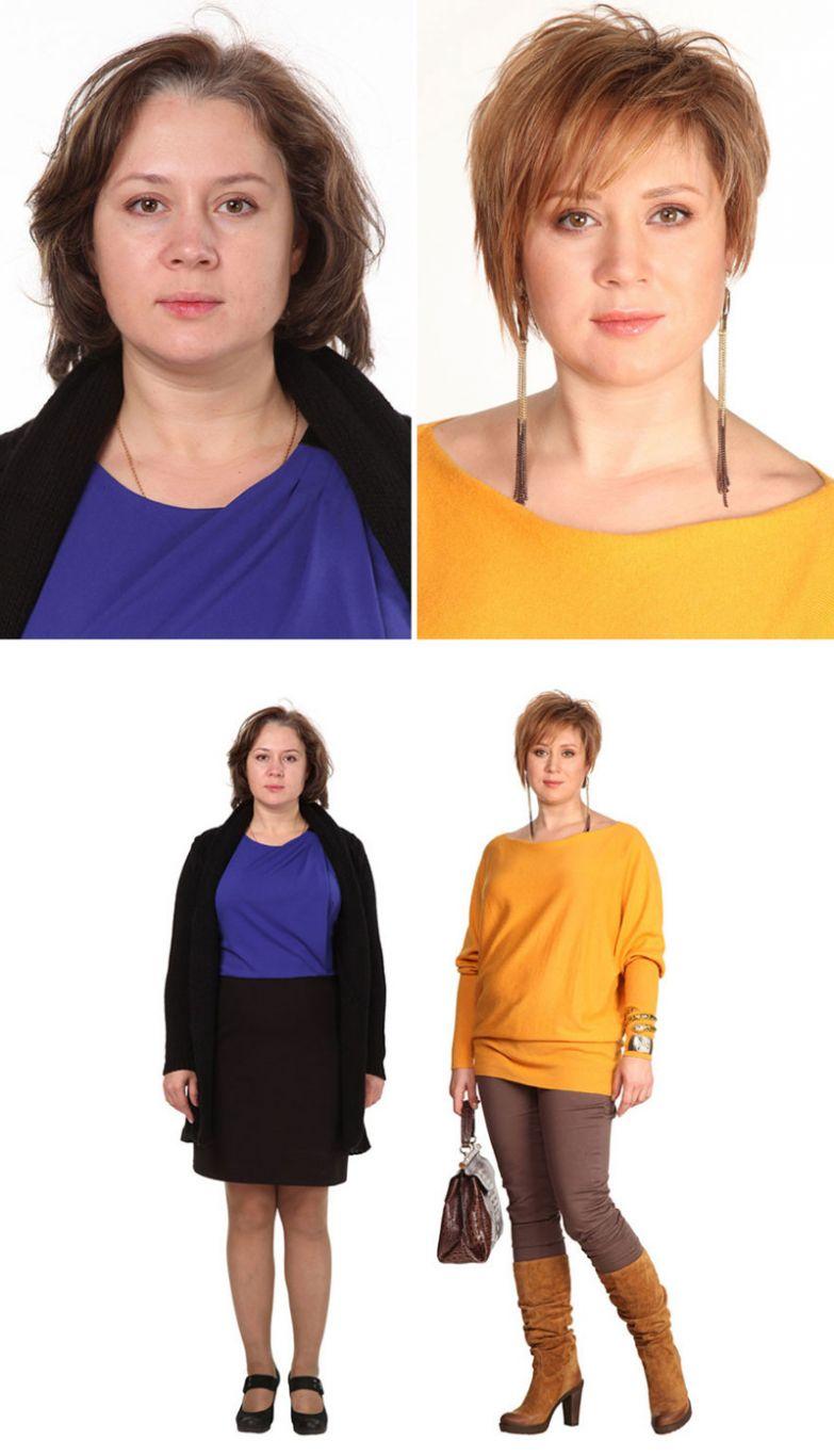 7. Мария, Москва женщина, перевоплощение, стилист