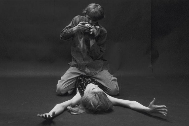 Кадр из фильма «Фотоувеличение» Микеланджело Антониони
