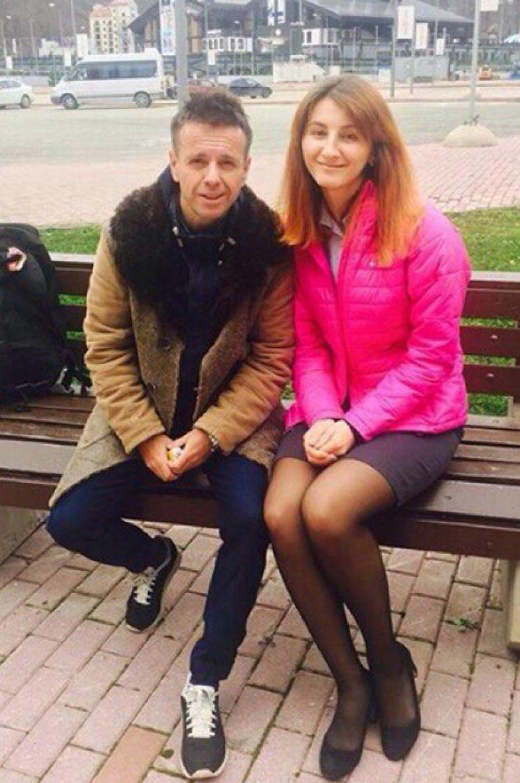 Андрей Губин с поклонницей