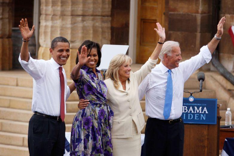Барак Обама давно считает Байдена своим другом