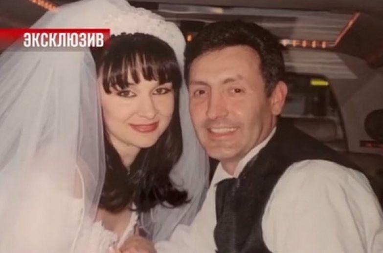 Дочь Магомаева Марина с мужем