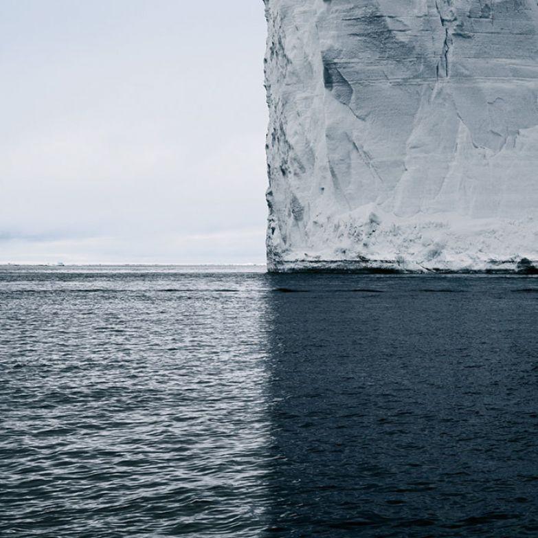 Антарктида. Четыре оттенка голубого искусство, мастерство, фото