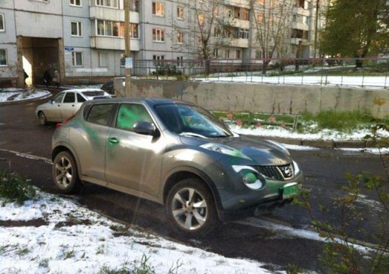 Неправильная парковка 9