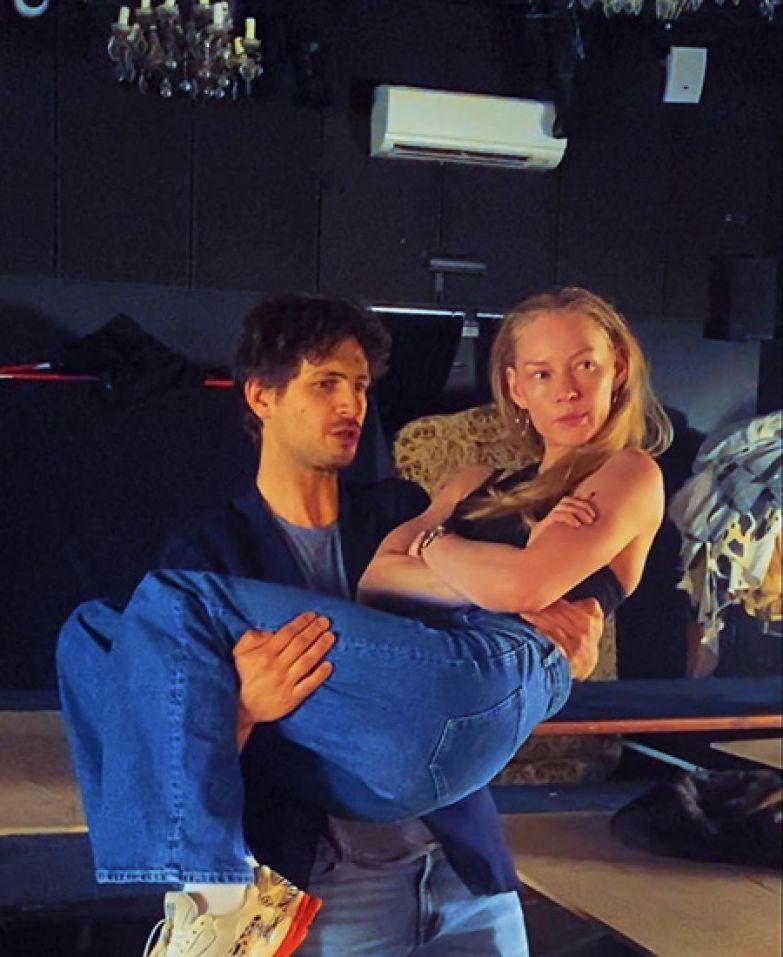 Александр Молочников и Светлана Ходченкова