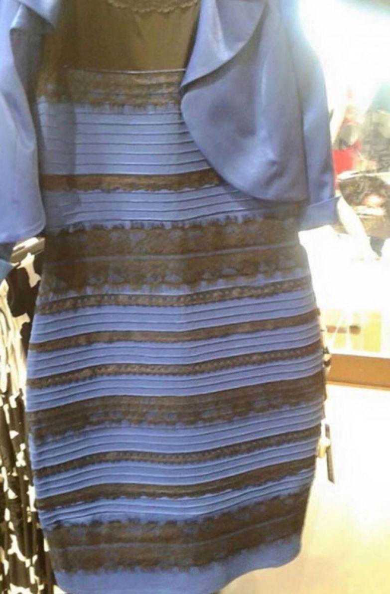 8ого цвета платье