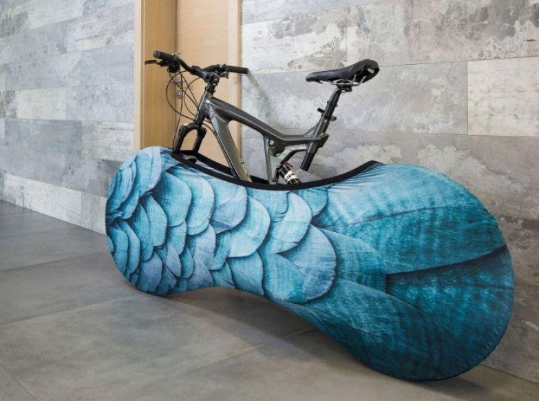 Яркие чехлы для велосипедов от Gvido Bajars2