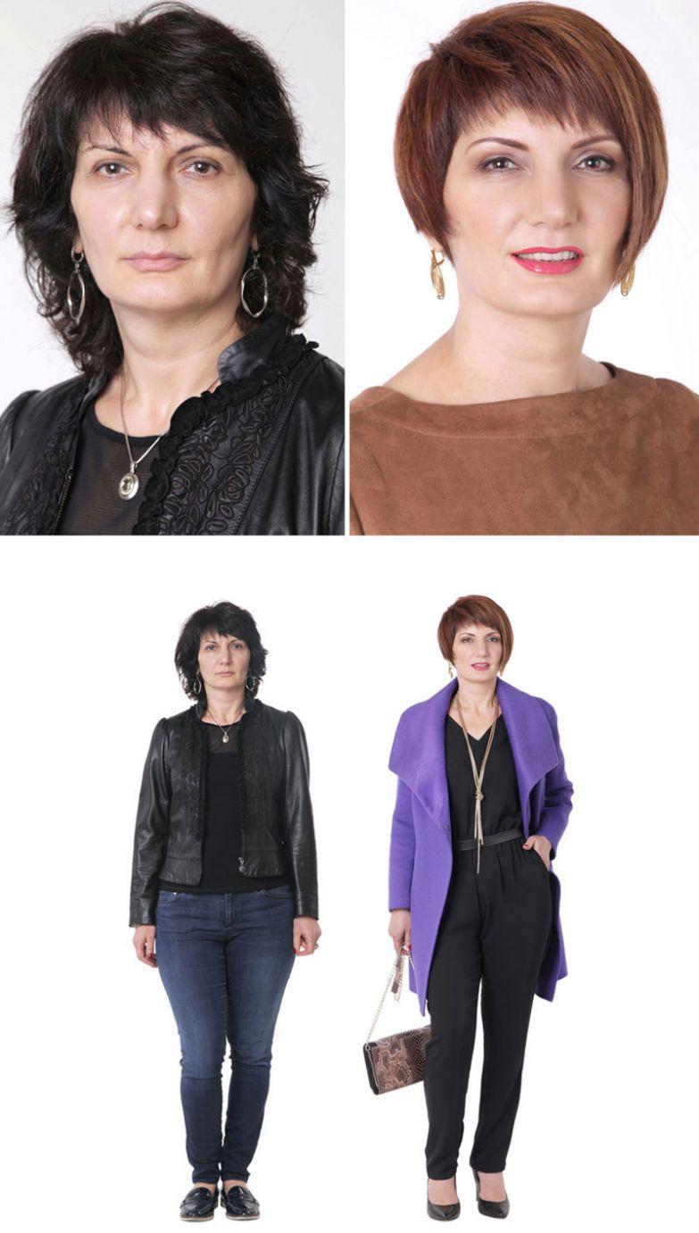 23. Людмила, Киев женщина, перевоплощение, стилист