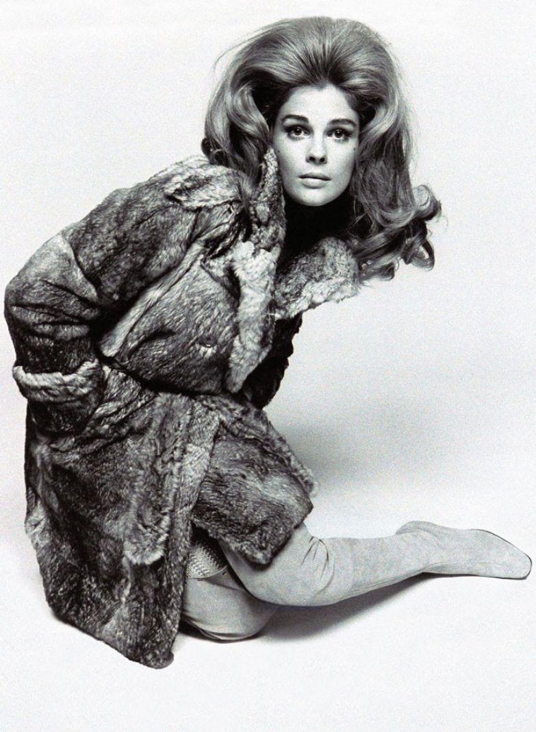 Актриса Кэндис Берген. Фото: Дэвид Бейли, 1967