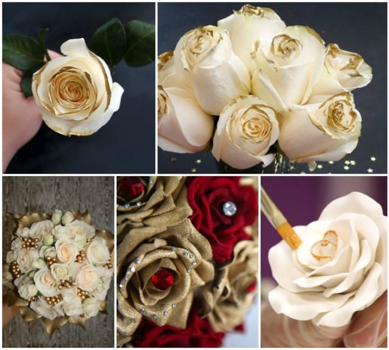 Цветы с глиттером (блестками). низкое качество, обман, флористика, цветы