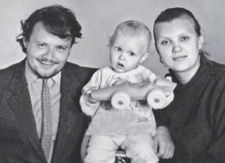 Ольга Белокобыльская подарила актеру сына Илью