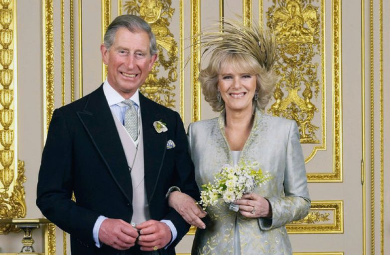 Принц Чарльз женился на давней возлюбленной Камилле в 2005-м