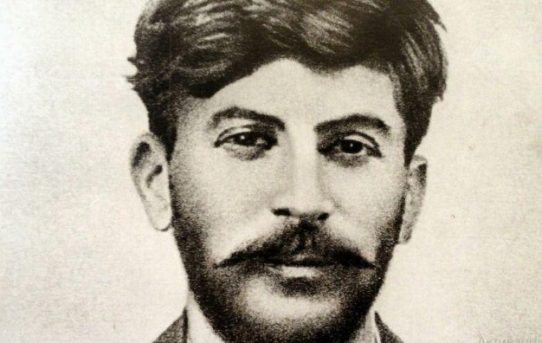 Молодой Сталин.