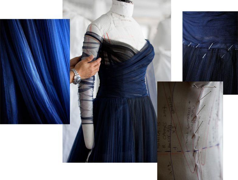 Как создавалось платье Dior для «хозяйки» Канн Моники Беллуччи