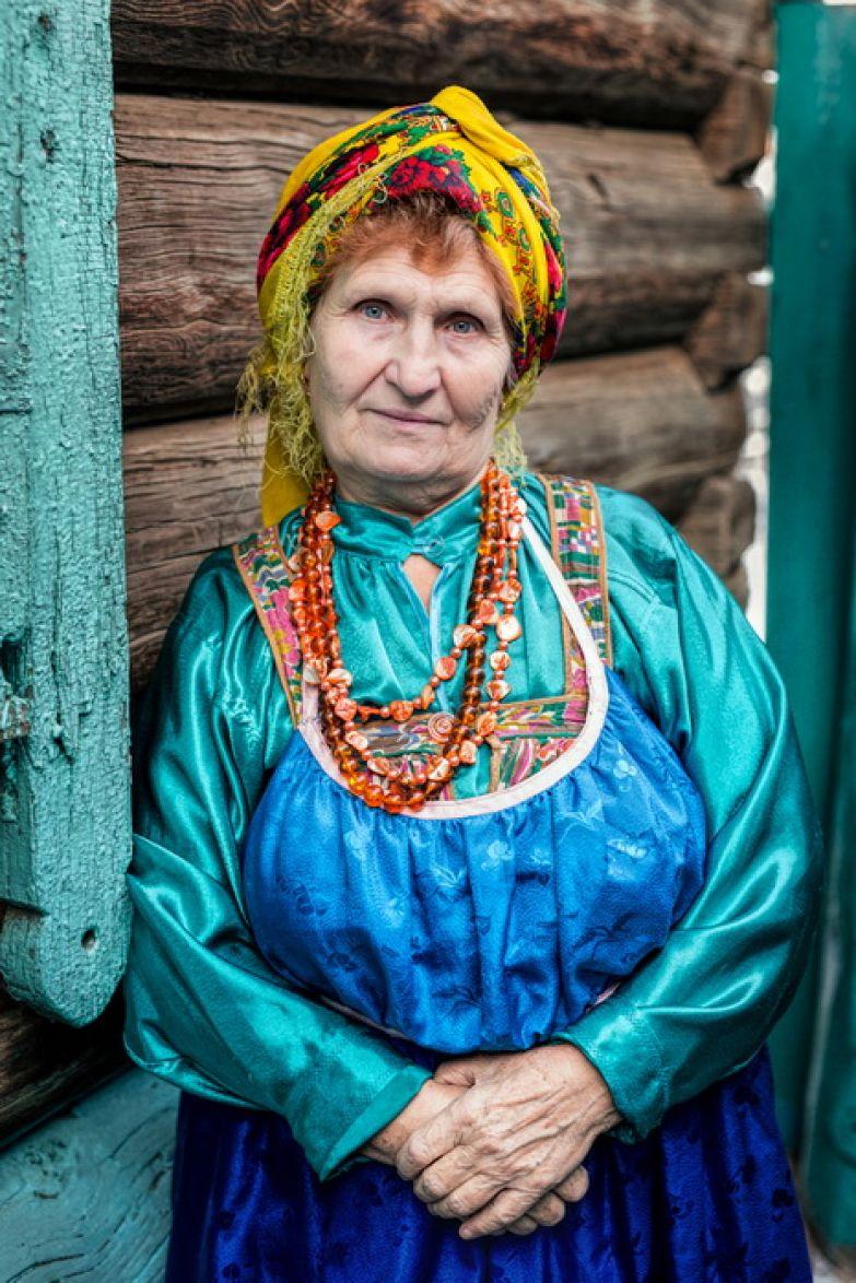 Женщина из рода старообрядцев семейских, Бурятия.