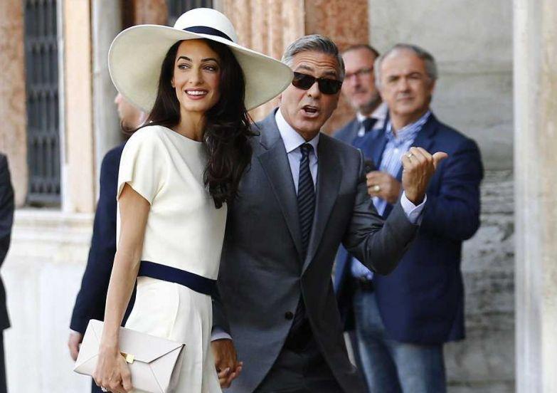 1. Джордж Клуни и Амаль Аламуддин звезды, знаменитости, малахов, свадьба