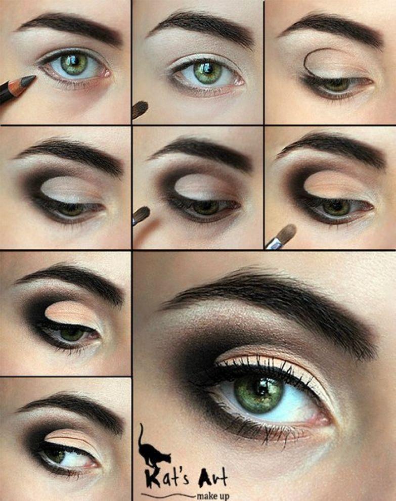 как правильно красить глаза тенями видео уроки для начинающих - Портал самоучек