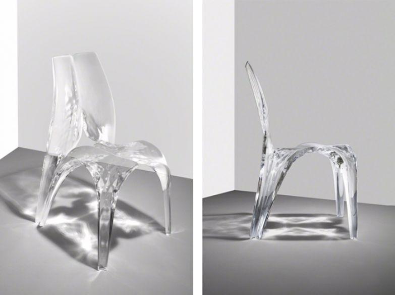 Стул Cristal, выполненный для Sawaya & Moroni.