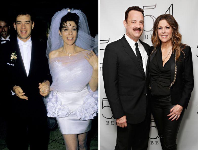 Том Хэнкс и Рита Уилсон - 28 лет вместе голливуд, звезды, любовь, свадьбы, семьи