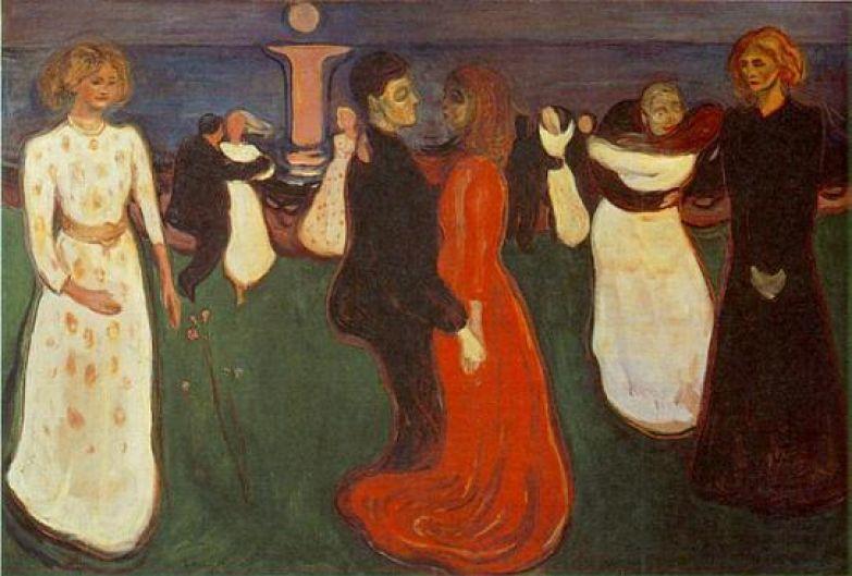 Эдвард Мунк. Танец жизни. 1899-1900
