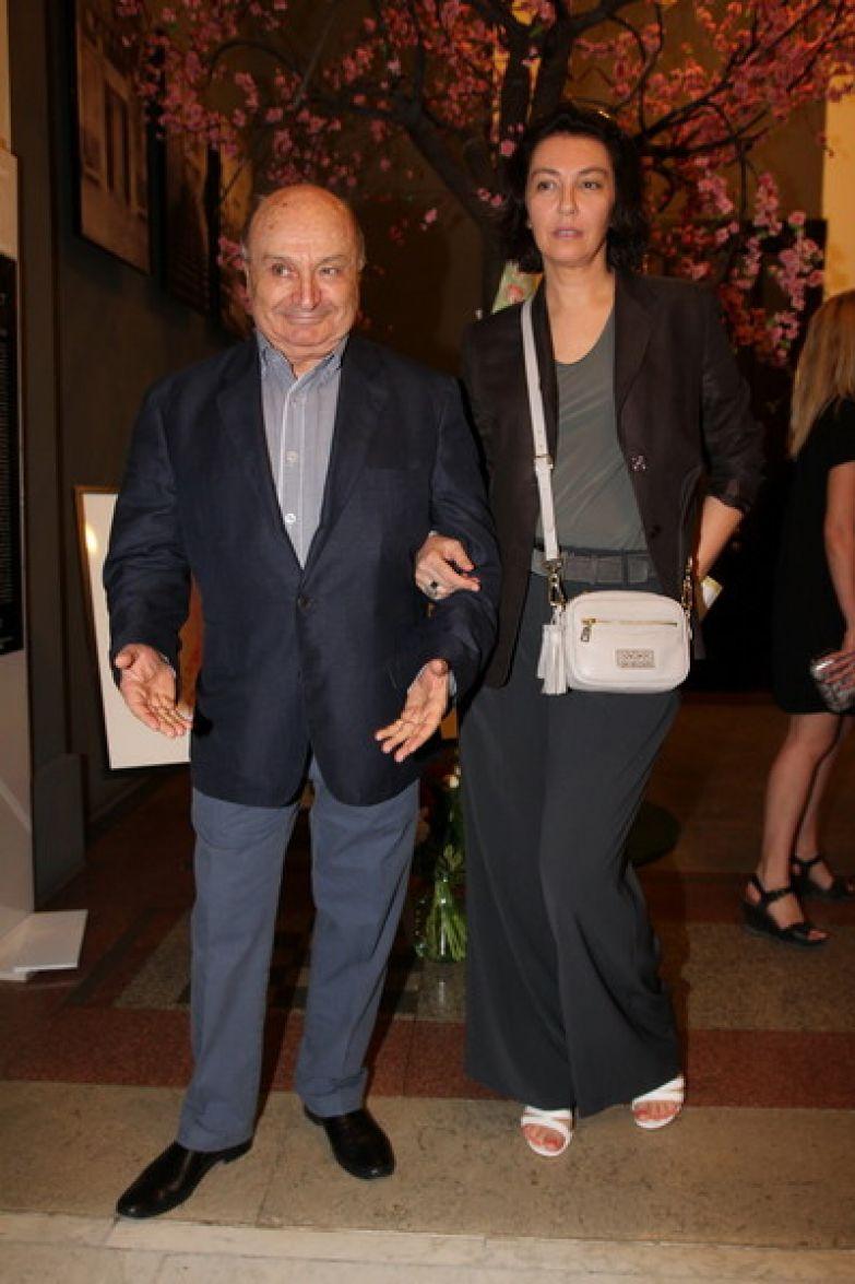 Михаил Михайлович с женой Натальей Суровой