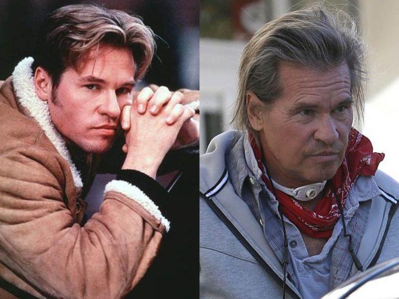 Вэл Килмер, 56 лет актеры, возраст, звезды, секс-символы, тогда и сейчас