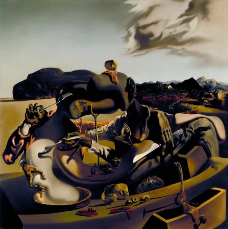 Сальвадор Дали. Осенний каннибализм. 1936 г.
