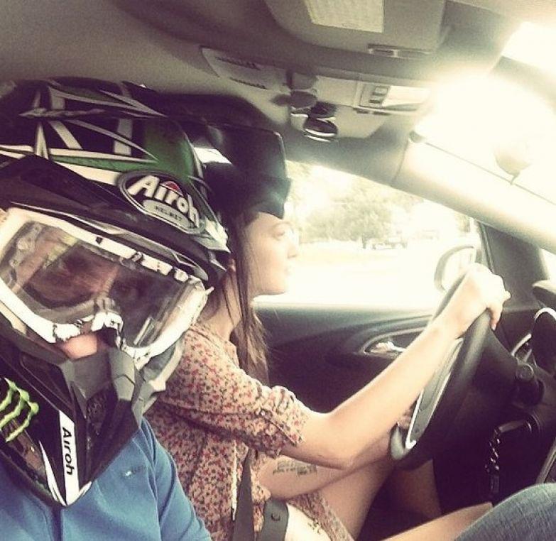 Как я езжу в машине, когда жена за рулем брак, девушки, прикол, развод, свадьба, юмор