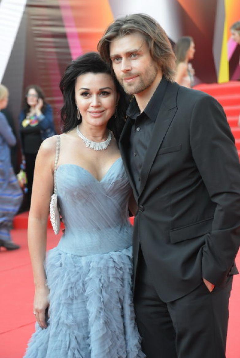 Анастасия Заворотнюк с мужем Петром Чернышевым