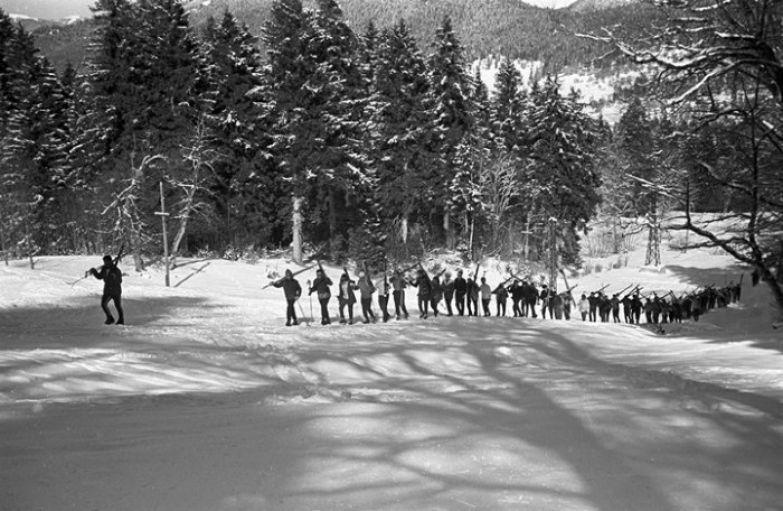 Советские лыжники в Бакуриани. /Фото: s5o.ru