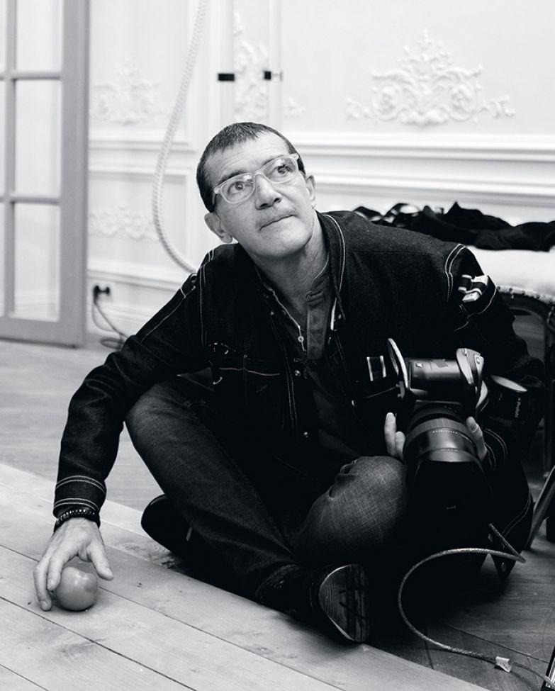 Фотоотчет про то, как Антонио Бандерас Анну Седокову снимал