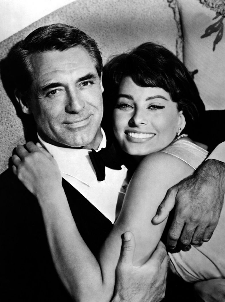 Софи Лорен и Кэри Грант (1958)