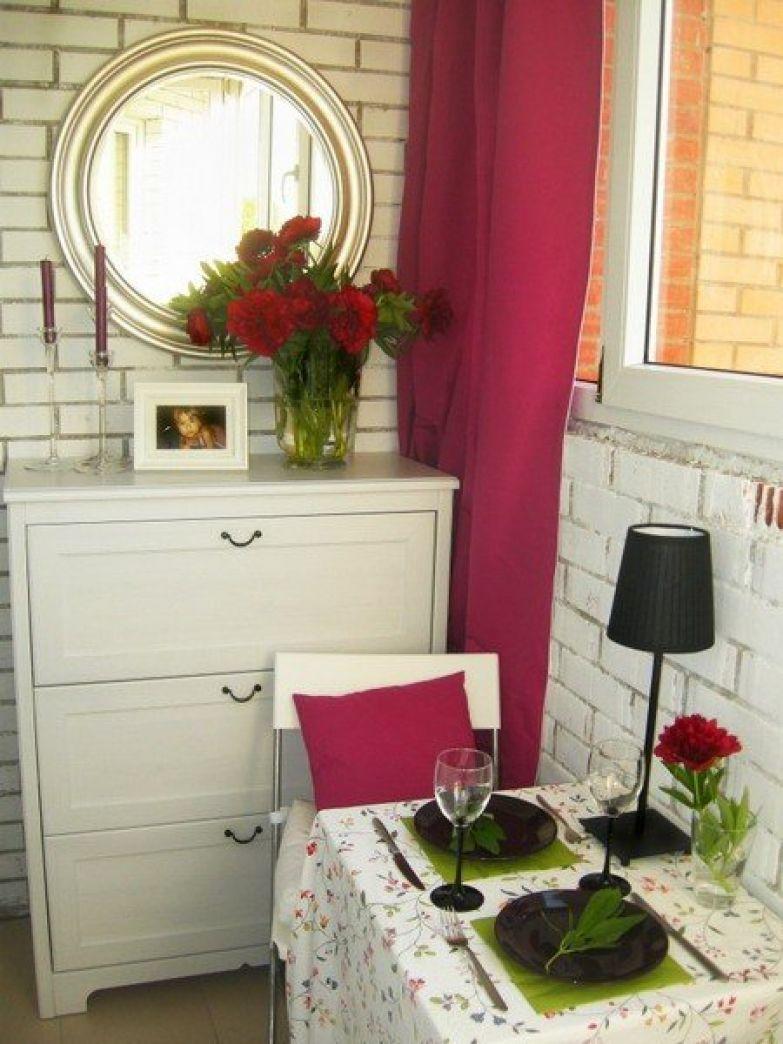 Балкон, фотографии интерьера, фото дизайна интерьеров.