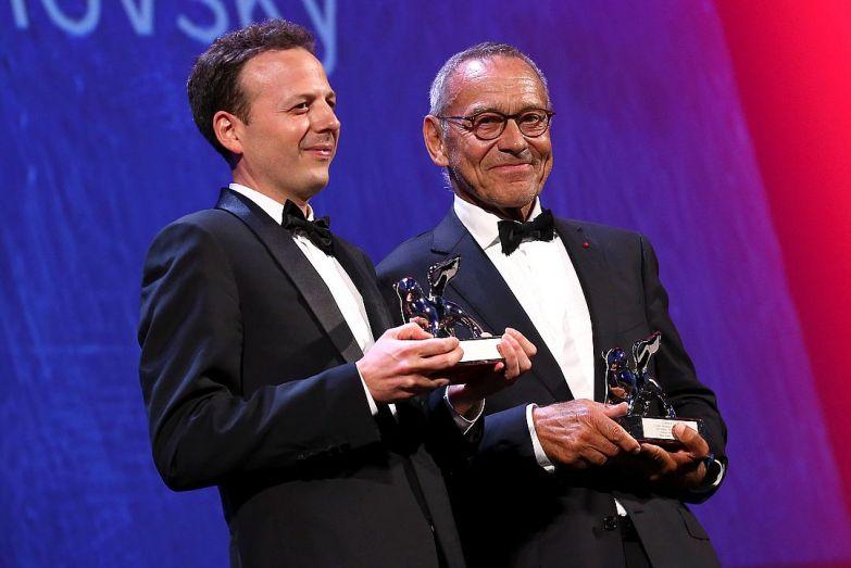 Кончаловский разделил награду с мексиканским кинорежиссером Аматом Эскаланте, получившим приз за свой фильм «Дикая местность». Фото: REUTERS