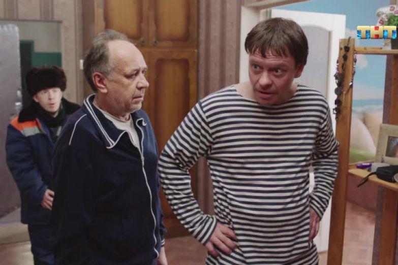 Пьющего инвалида Павел Майков сыграл в сериале «Ольга»
