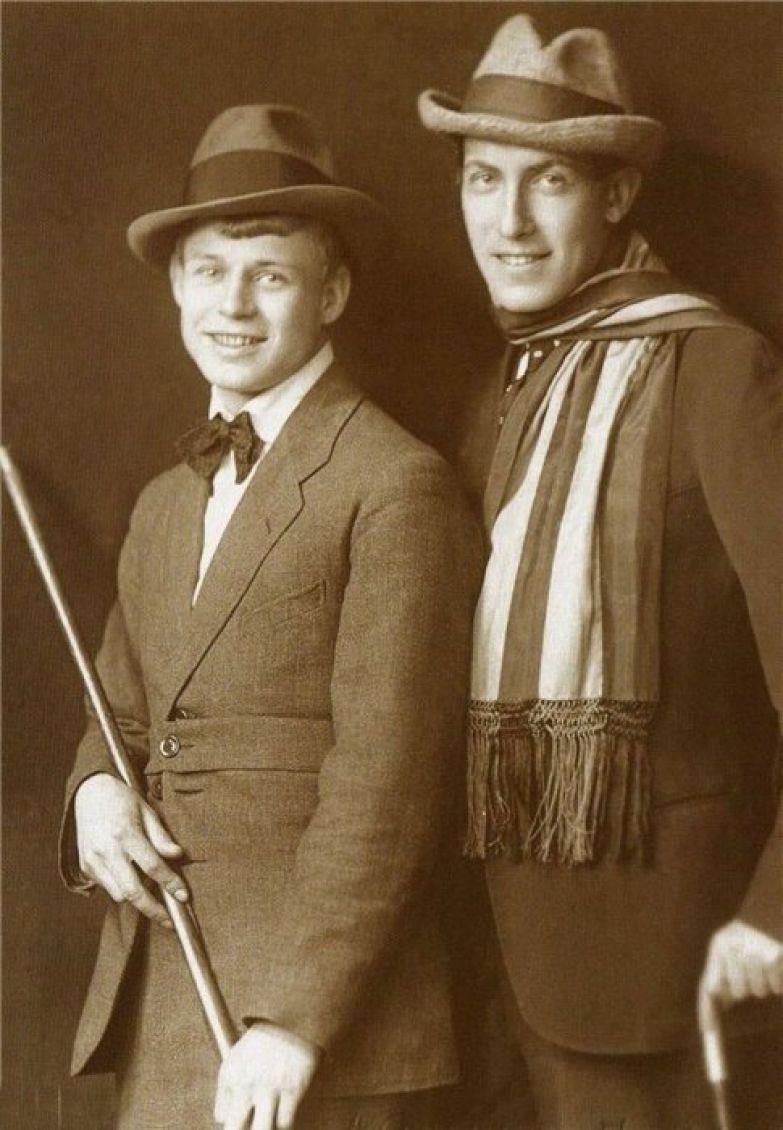 Сергей Есенин и Анатолий Мариенгоф.