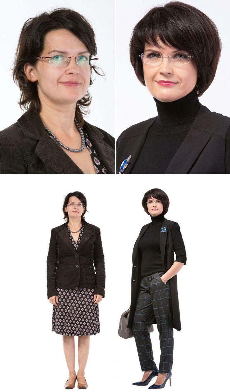 21. Даце, Рига женщина, перевоплощение, стилист