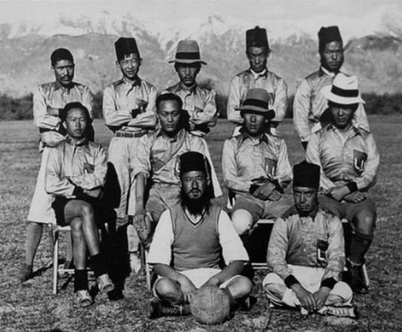 Тибетская сборная по футболу. 1936 год. история, события, фото
