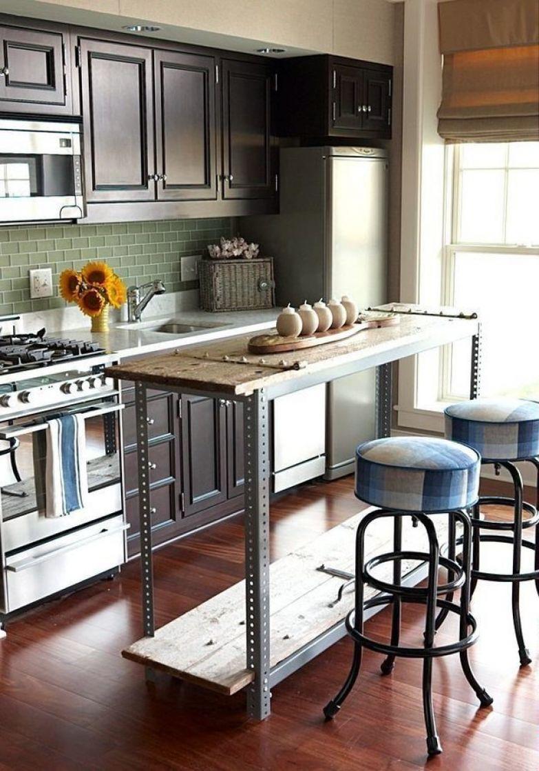 Фотография: Кухня и столовая в стиле Лофт, – фото на InMyRoom.ru