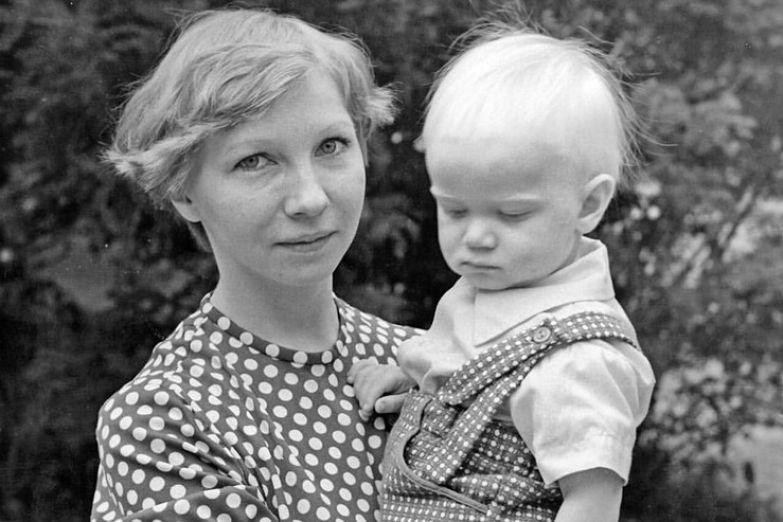 Дмитрий Хрусталев с мамой