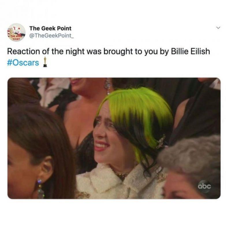 Забавные мемы на 'Оскар 2020', которые сделают твой день - фото 467148