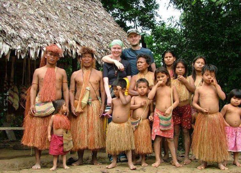 Секс в племени вауру